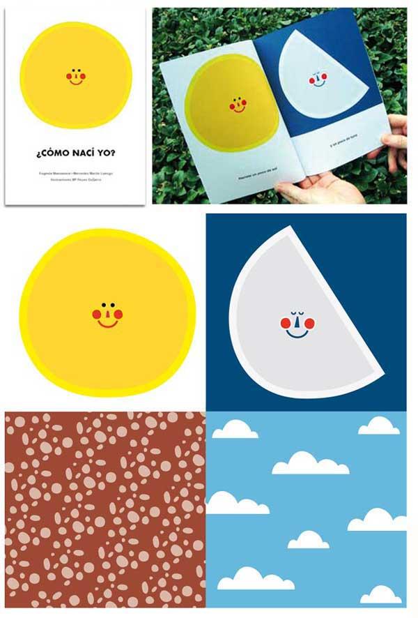 Libro ilustrado de poesía para bebés