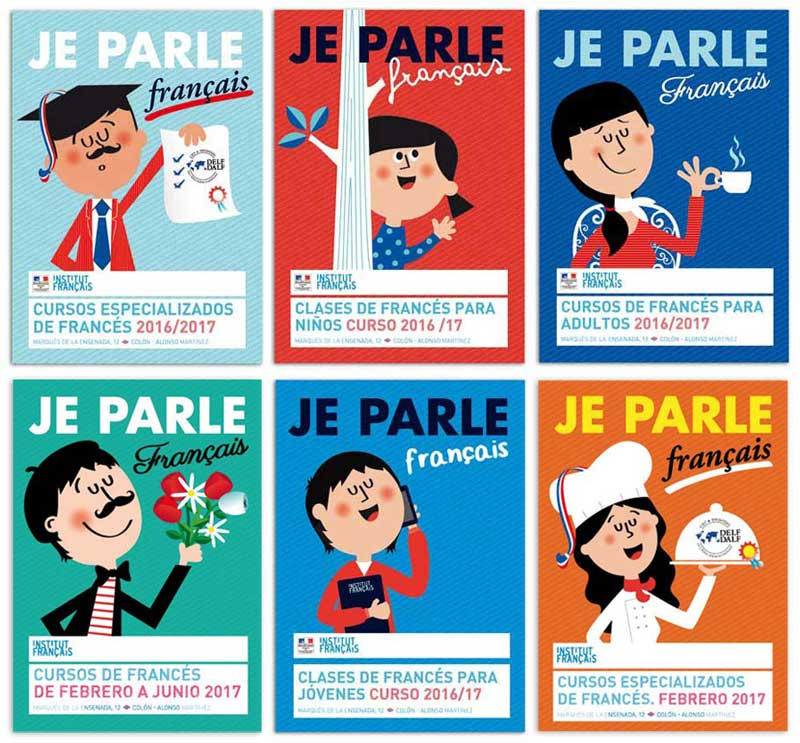 Posters for French courses