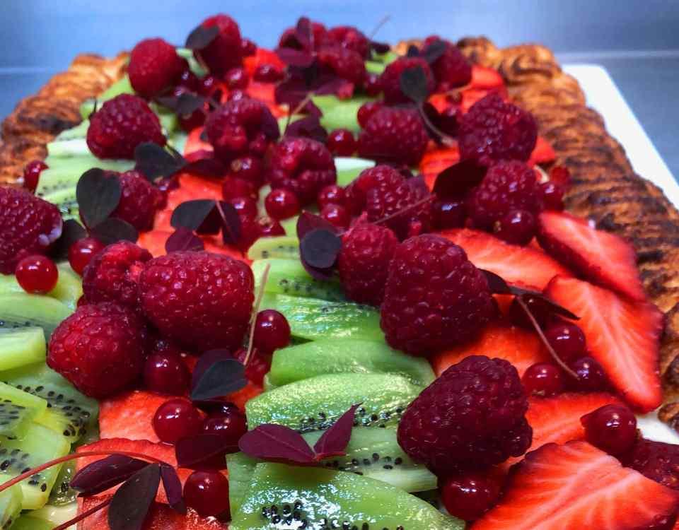 Frugttærte og kager fra Marias Deli