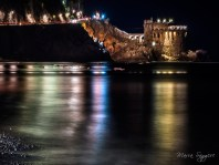 Maiori by night, Salerno