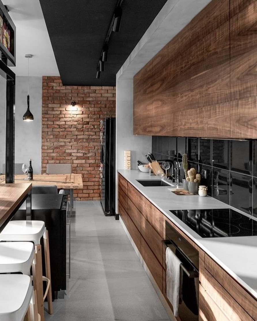 22 Tips To Have The Best Industrial Kitchen Style! | Apartment ideas ...