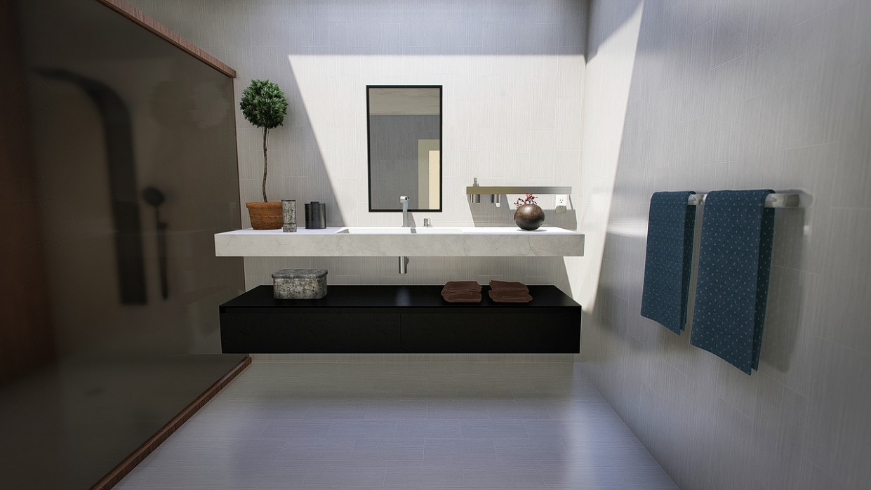 Bathroom, Modern, Design, Lighting