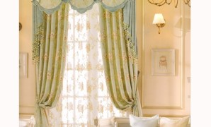 country curtains beautiful light green floral jacquard (no valance) within Country Curtains