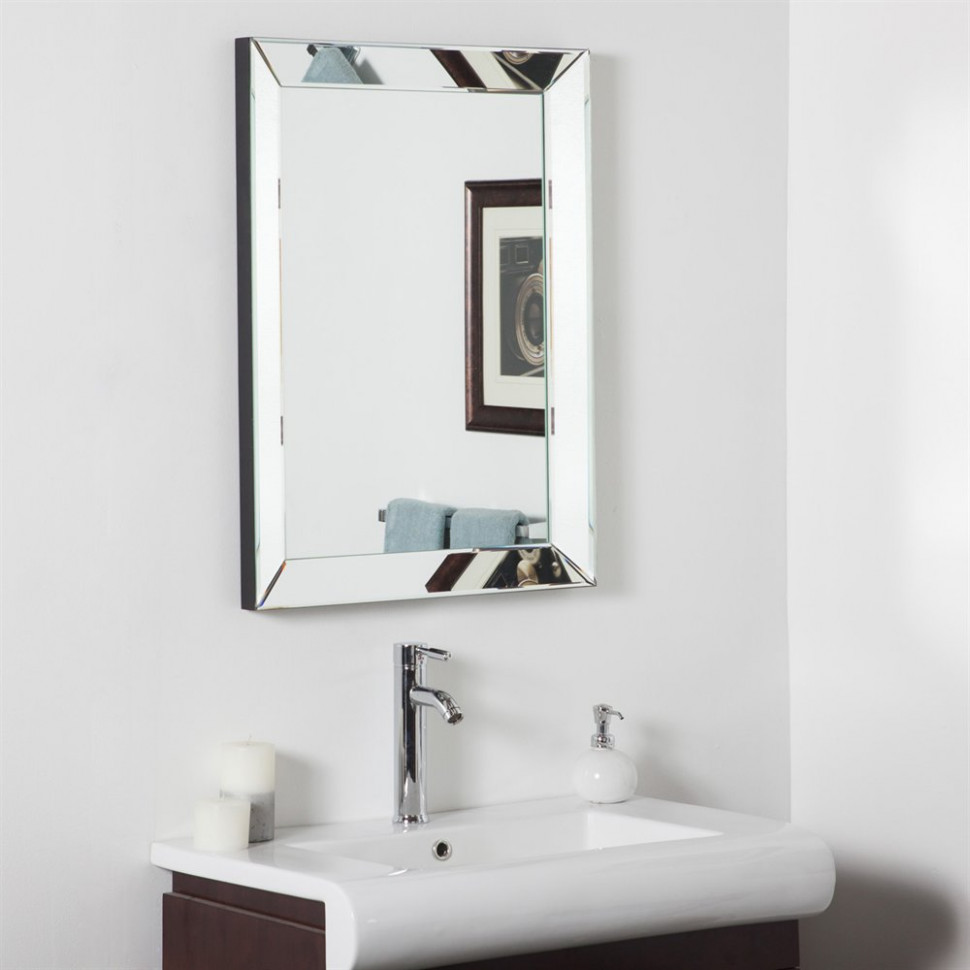 Decor Wonderland SSD102S Mirror-Framed Mirror | Lowe's Canada