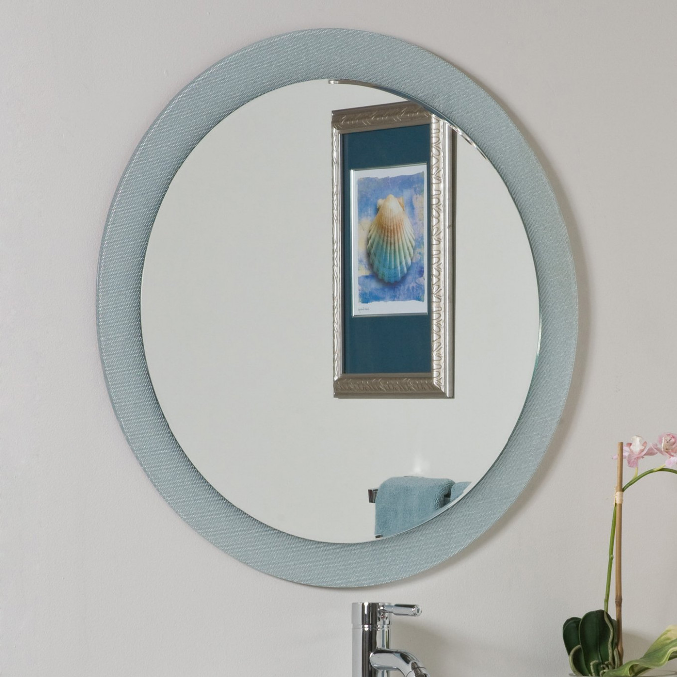 Decor Wonderland Zoe Bathroom Mirror | Lowe's Canada