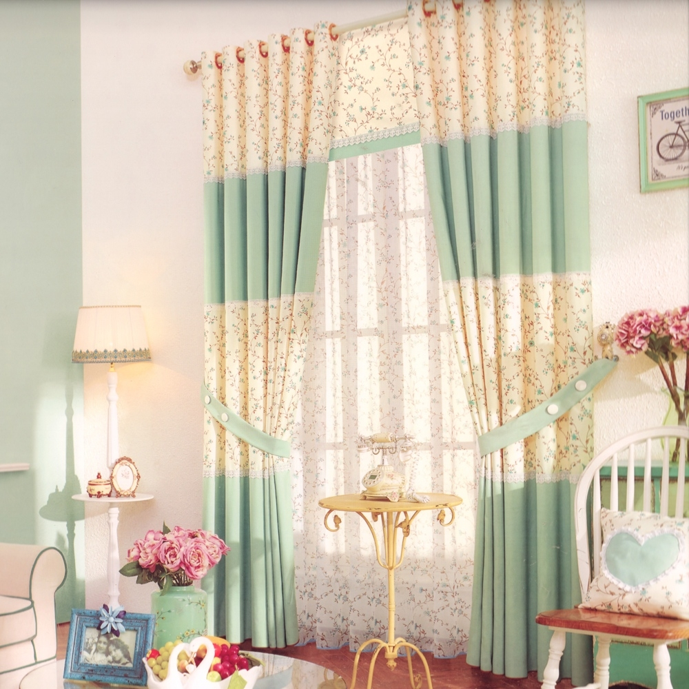 neat sage green country curtains furniture throughout Country Curtains