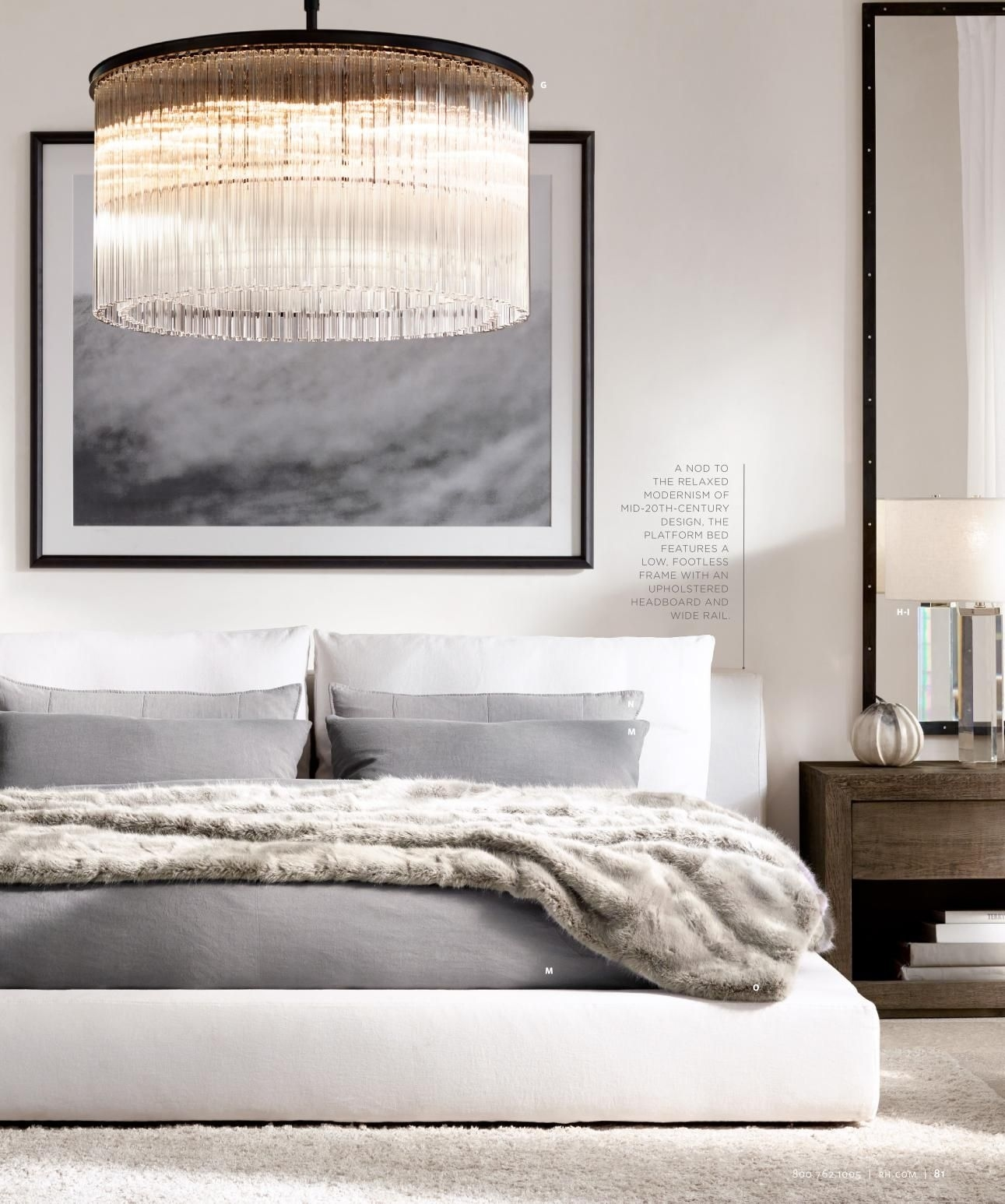 Relaxed Modern Bedroom Design #homedecorideas #interiordesign intended for How to Decorate Modern Bedroom with Lighting Design Ideas - modern bedroom with lighting