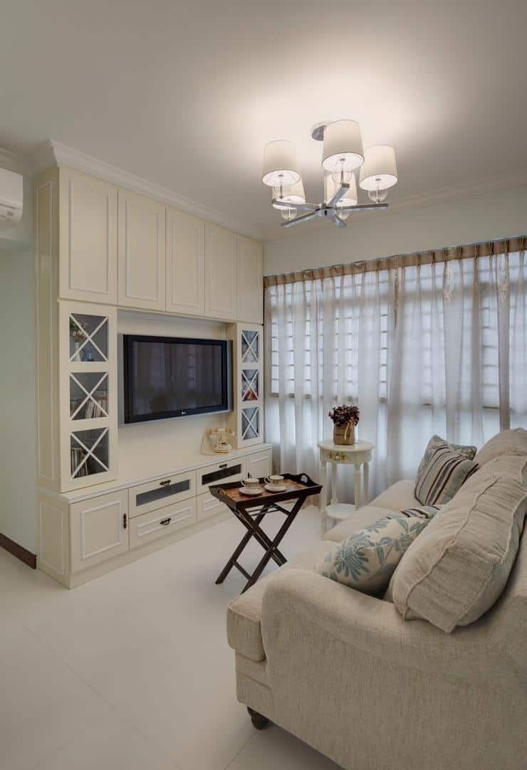 this hdb apartment proves that the country style can be modern too with regard to Classic Country Decoration