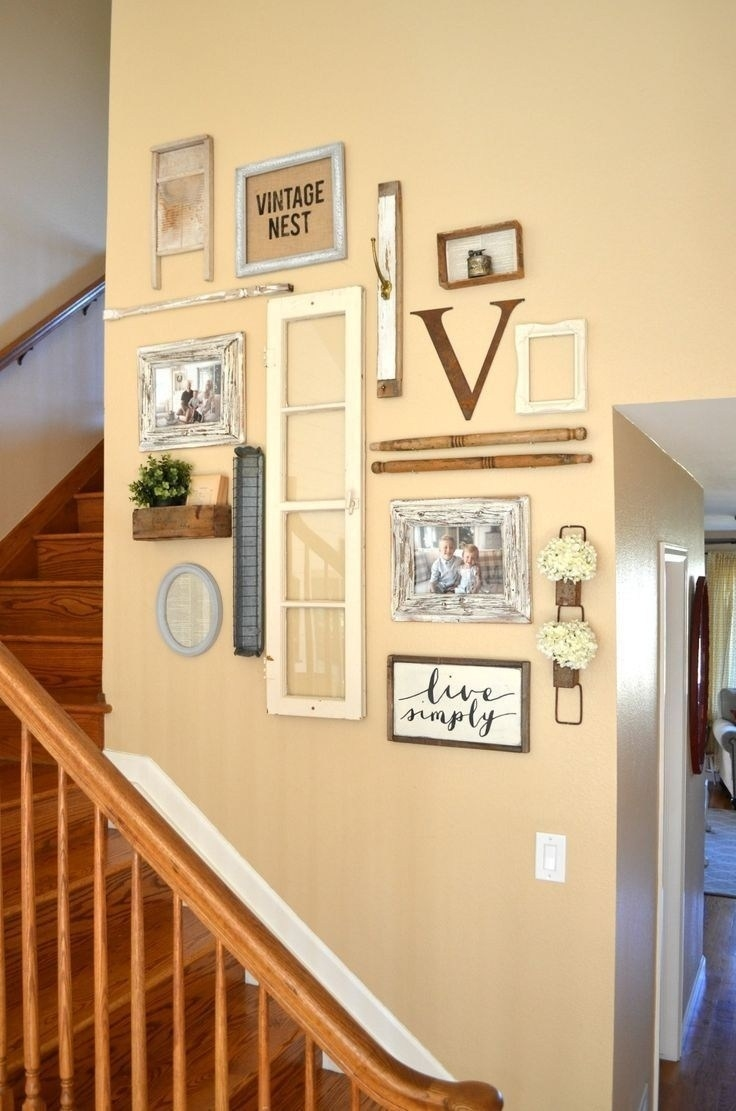 wall art decorating ideas home office design thrifty country kitchen inside Country Wall Decor Ideas