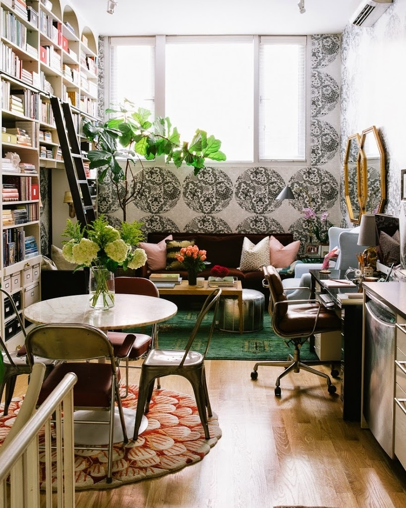 13 brilliant tips for decorating a small space   a cup of jo within Decorate A Small Space