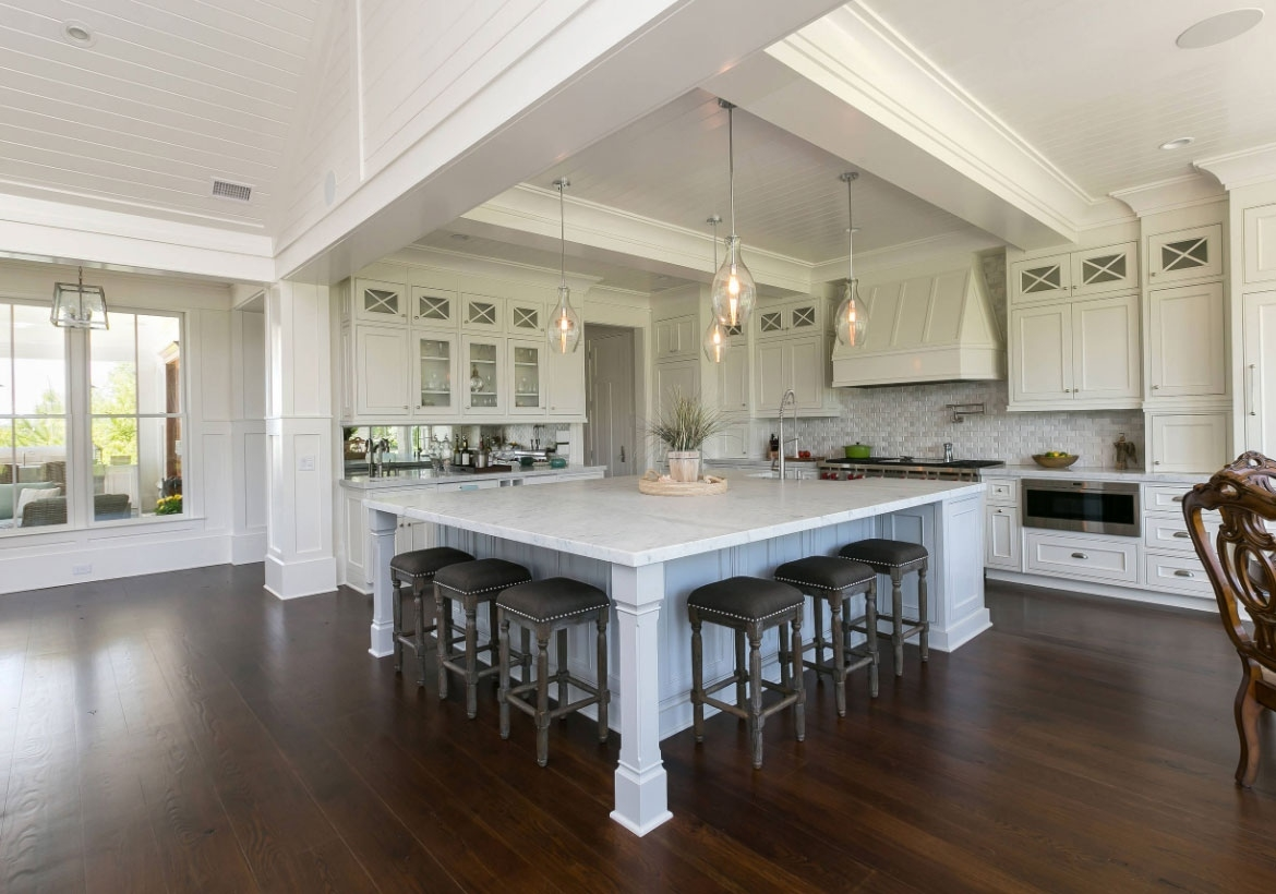 70 spectacular custom kitchen island ideas | home remodeling in Custom Designed Kitchen Islands