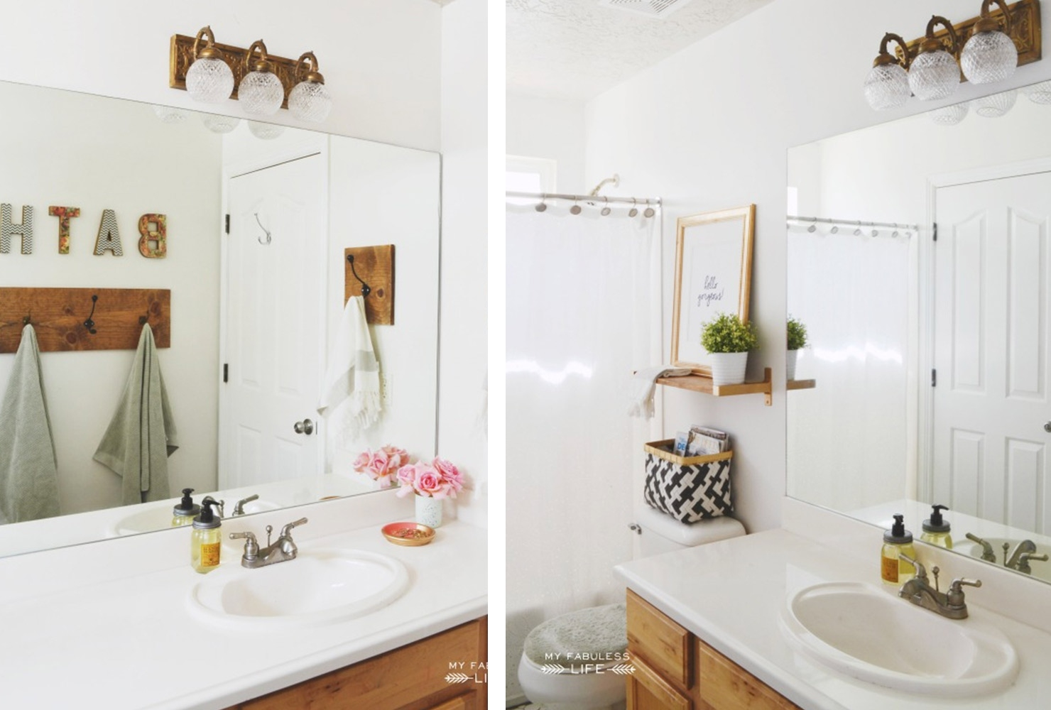76 ways to decorate a small bathroom | shutterfly in Tips for Decorating The Bathroom