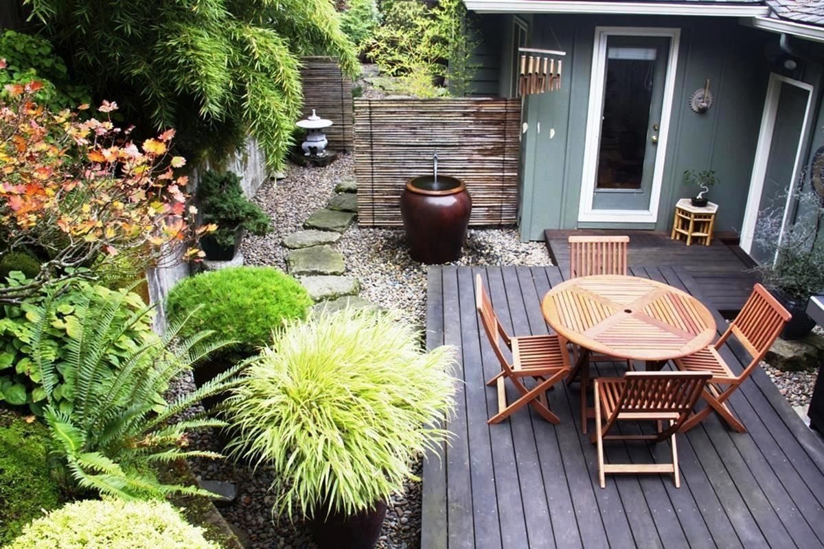 decorating small garden landscape ideas | alis | small garden design within Decorating A Small Garden