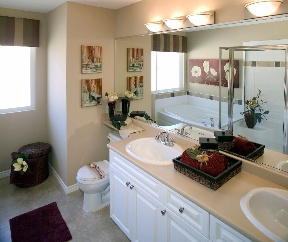 guest bathroom ideas | guest bathroom decorating ideas | small guest regarding Tips for Decorating The Bathroom