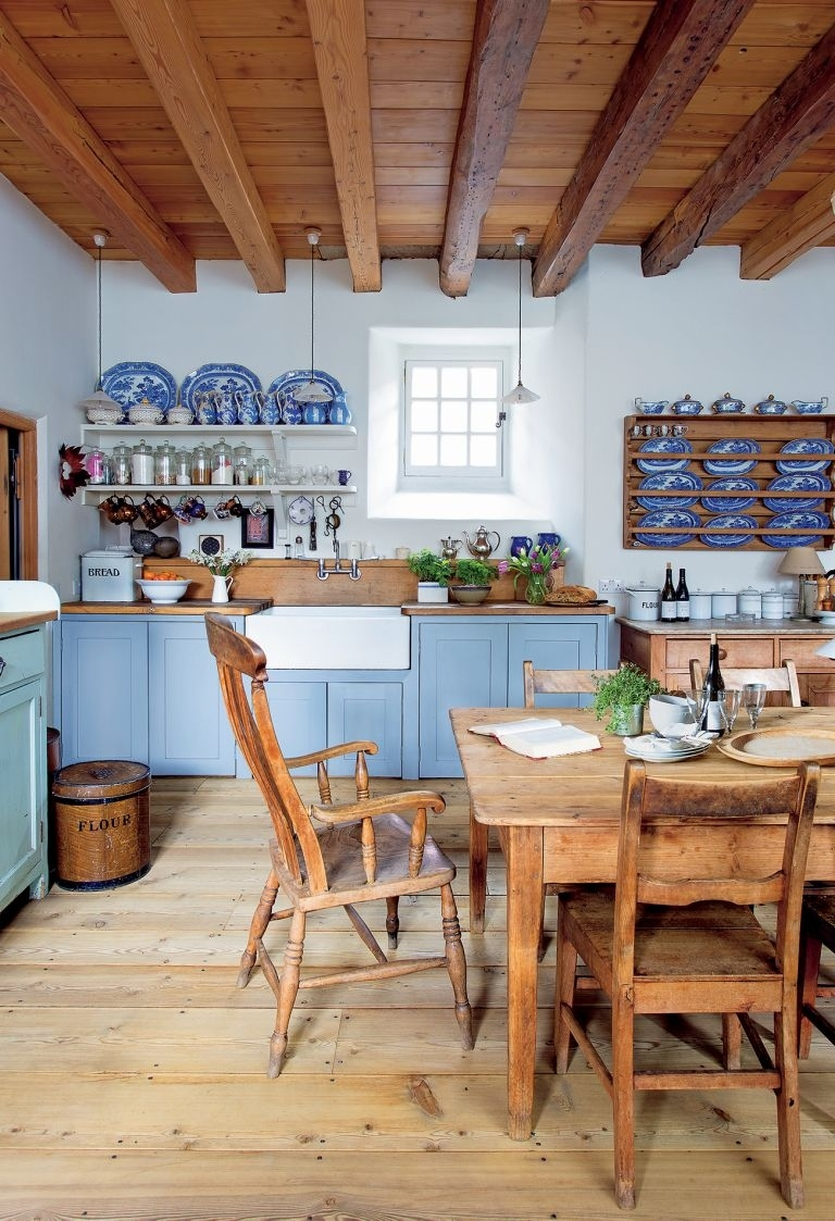 how to design a traditional kitchen | real homes inside Traditional Kitchen Designs Ideas