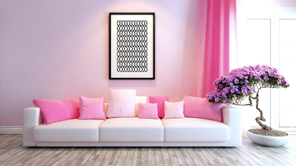 how to indulge your love of pink in your home decor | the paint people with Pink Home Decor