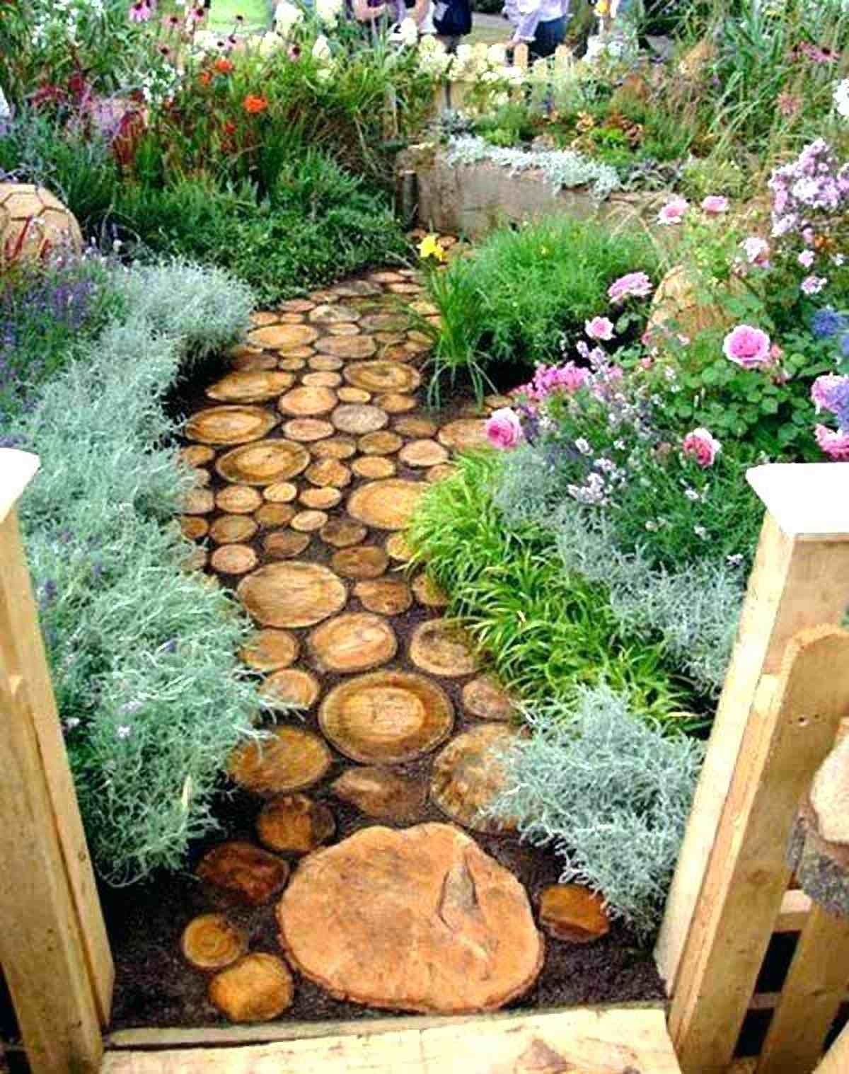 rustic garden design ideas inside Decorating The Garden