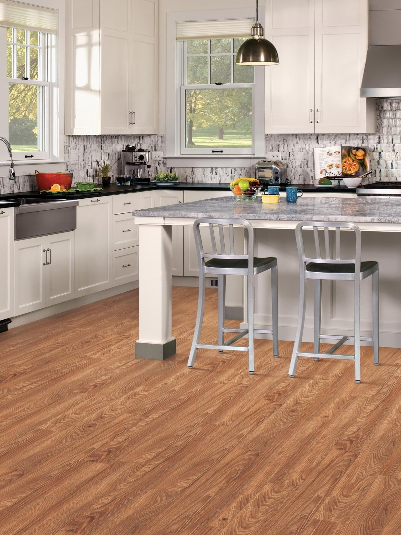vinyl flooring – durable and easy to maintain - kitchen ideas inside Kitchen Flooring Ideas