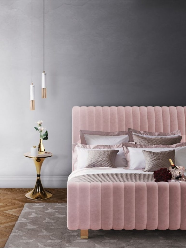 we can't stop crushing over pink home decor! with Pink Home Decor