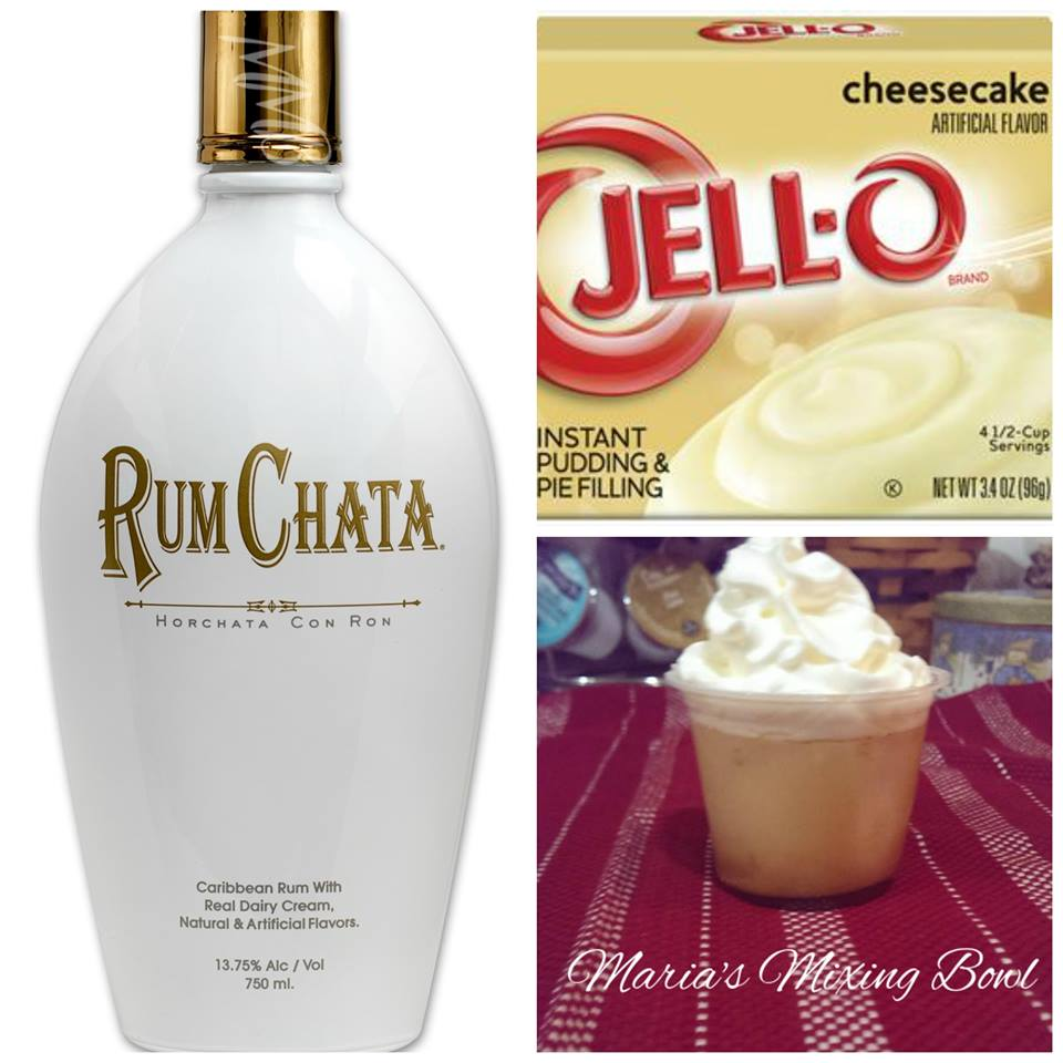 RumChata Cheesecake Pudding Shots Marias Mixing Bowl