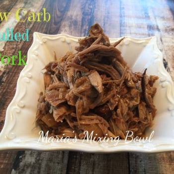 Slow Cooker Low Carb Pulled Pork
