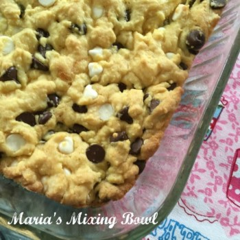 Lazy Black and White Cake Mix Cookies
