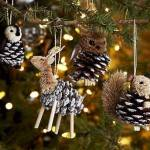 DIY PINE CONE ANIMAL ORNAMENTS