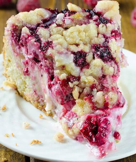 Http Omgchocolatedesserts Com Raspberry Cream Cheese Coffee Cake