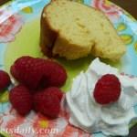CREAM CHEESE POUND CAKE