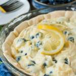 LEMON BLUEBERRY CREAM PIE