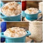 2 INGREDIENT CREAMY VANILLA RICE PUDDING