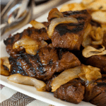 Steak Tips with Caramelized Onions