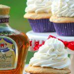 Crown Royal Butter Pecan Cupcakes