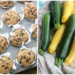 WHOLE WHEAT  SUMMER SQUASH CHOCOLATE CHIP MUFFINS