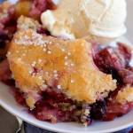 MIXED BERRY COBBLER