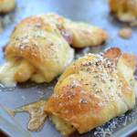 Ham Swiss Parmesan Crescents