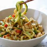 KUNG POA CHICKEN ZOODLES FOR TWO