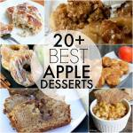 20 PLUS BEST APPLE DESSERTS