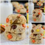 NUTTER BUTTER REESES PIECES COOKIES