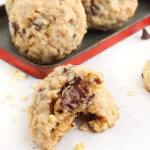 LOADED CHOCOLATE CHIP OATMEAL COOKIES