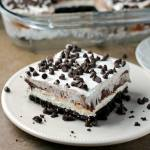 NO BAKE CHOCOLATE LUSH