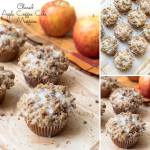 GLAZED APPLE COFFEE CAKE MUFFINS