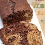CHOCOLATE MARBLE ZUCCHINI BREAD