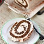 GINGERBREAD ROLL CAKE