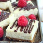 CHOCOLATE GANACHE CHEESECAKE BARS