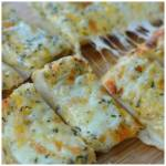 TRIPLE CHEESE GARLIC BREAD