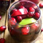 CRANBERRY  APPLE SANGRIA