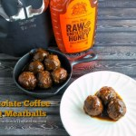 CHOCOLATE COFFEE BBQ MEATBALLS