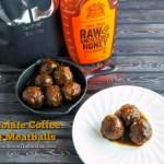 CHOCOLATE COFFEE BBQ MEATBALLS