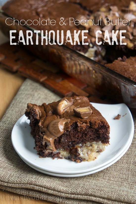 chocolate-and-peanut-butter-earthquake-cake